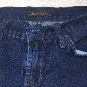 James Jeans Jeans - SIZE 25 JAMES JEANS DARK WASH SKINNY TWIGGY
